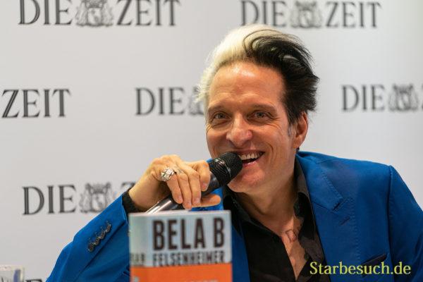 Bela B Felsenheimer präsentiert sein Buch 'Scharnow'