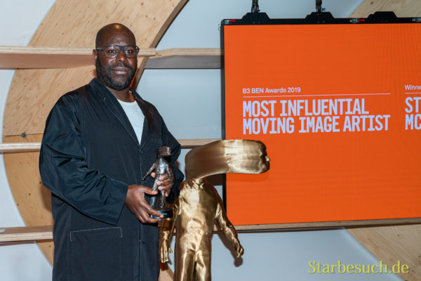 Buchmesse Film Awards: Regisseure Steve McQueen gewinnt Most Influental Moving Image Artist