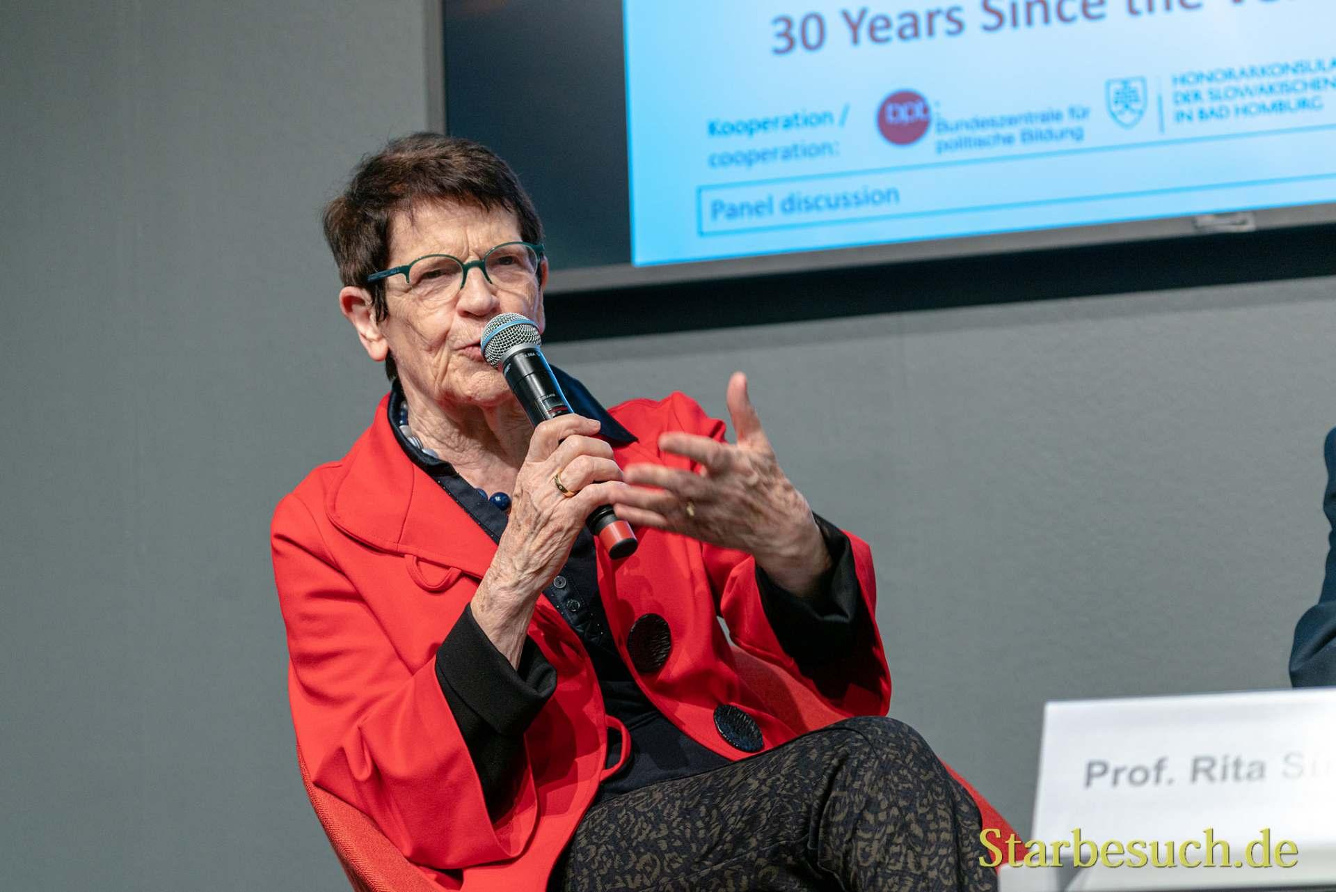 30 Jahre Mauerfall:   Rita Süssmuth