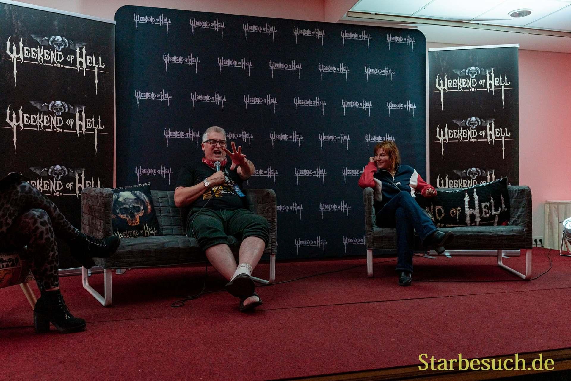 Halloween Panel: Brad Loree & Scout Taylor-Compton