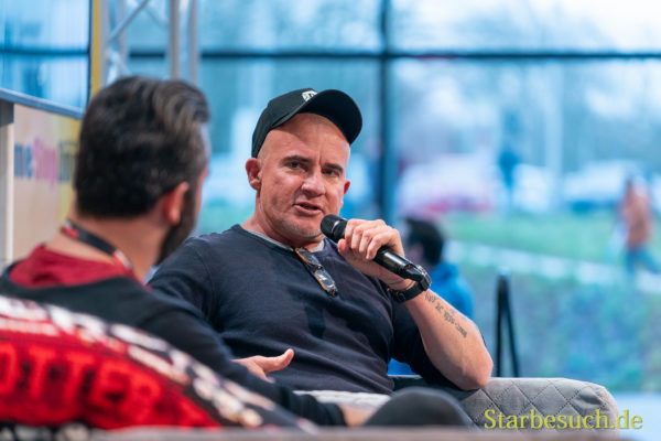 DORTMUND, GERMANY - December 7th 2019: Dominic Purcell at German Comic Con Dortmund