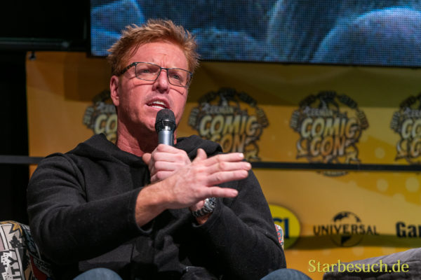 DORTMUND, GERMANY - December 7th 2019: Jake Busey at German Comic Con Dortmund