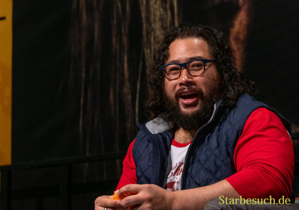 DORTMUND, GERMANY - December 7th 2019: Cooper Andrews at German Comic Con Dortmund
