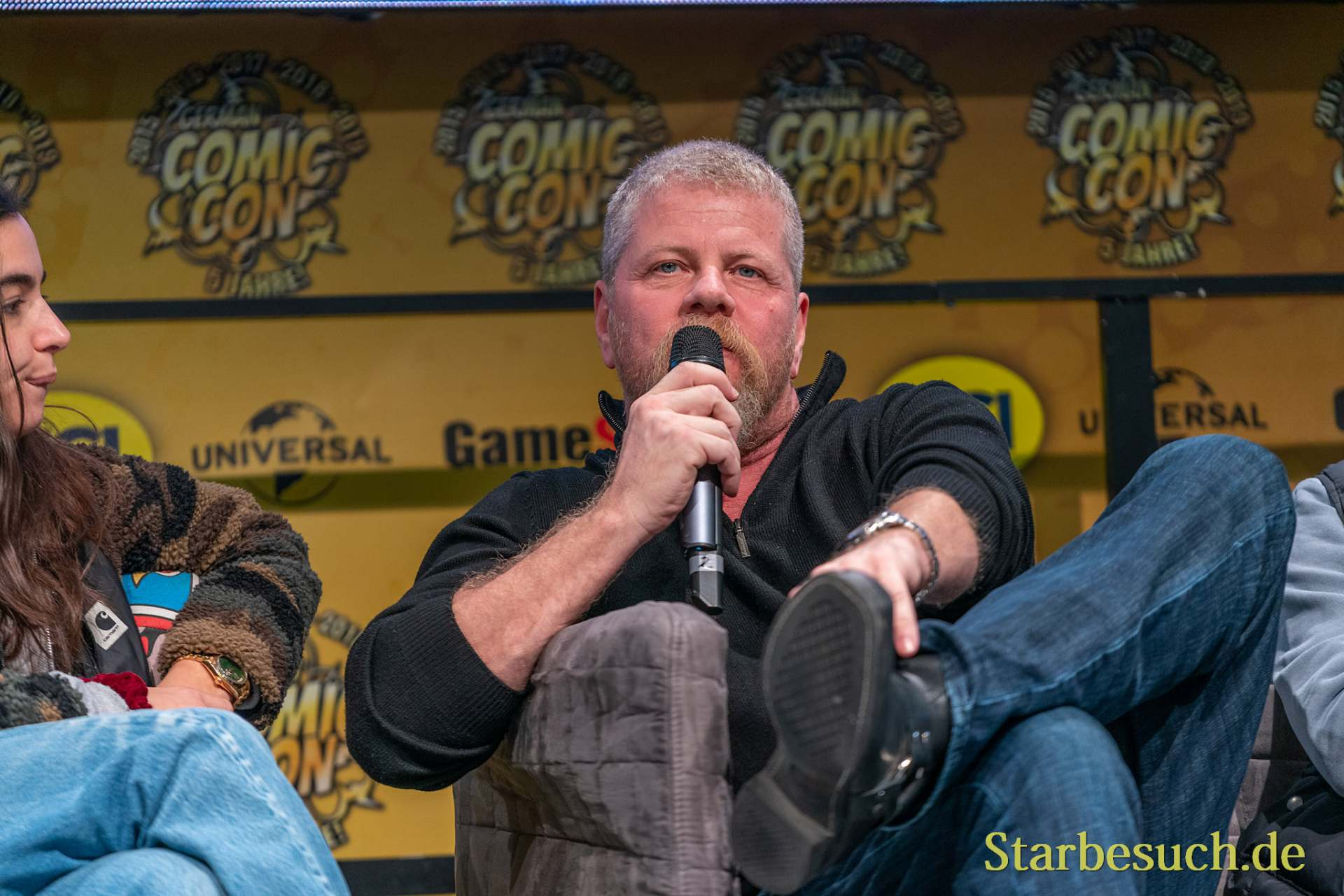 DORTMUND, GERMANY - December 7th 2019: Michael Cudlitz at German Comic Con Dortmund