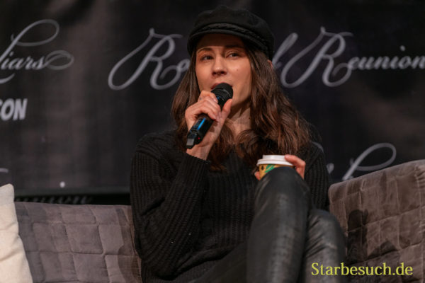 DORTMUND, GERMANY - December 7th 2019: Troian Bellisario at German Comic Con Dortmund