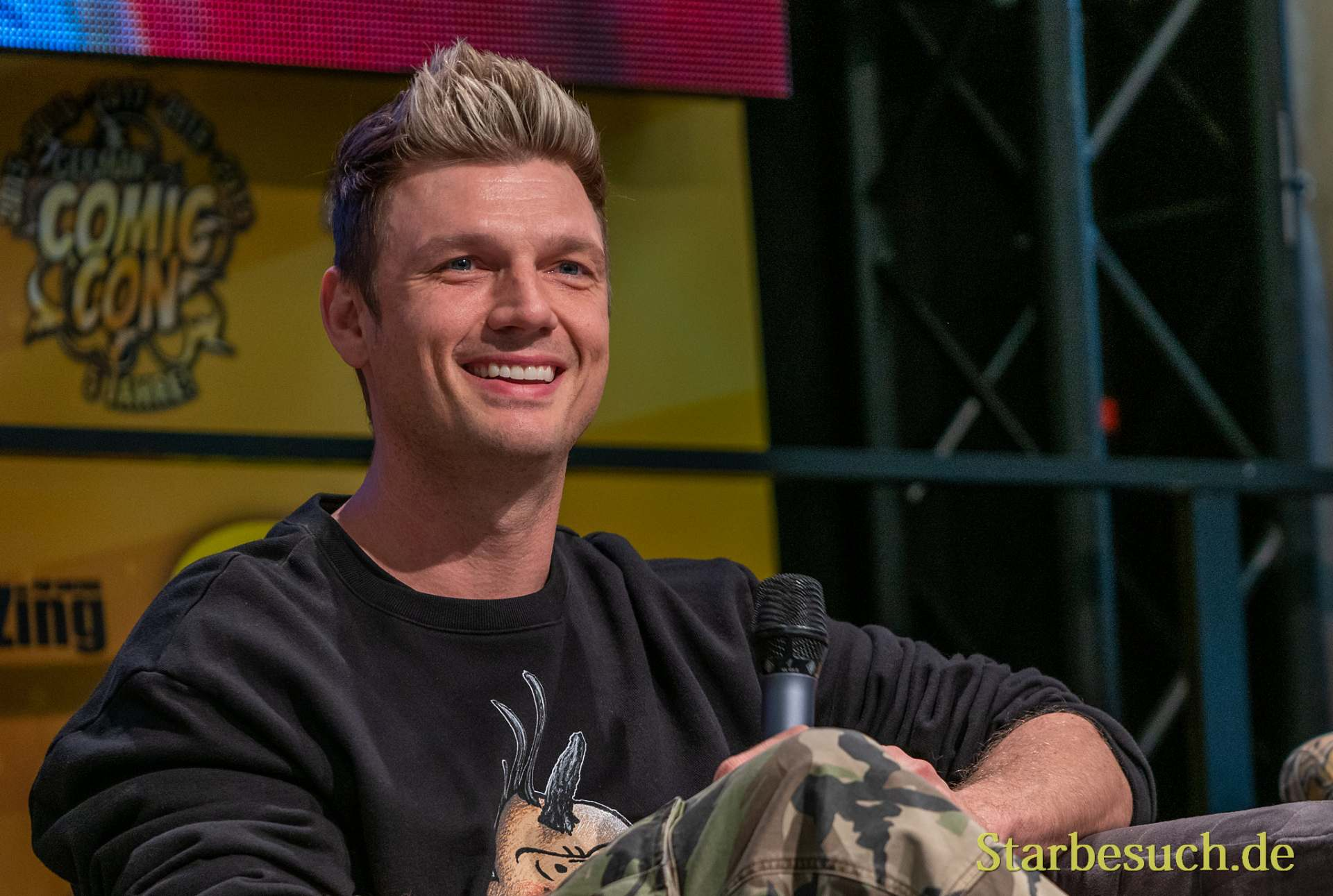 DORTMUND, GERMANY - December 7th 2019: Nick Carter at German Comic Con Dortmund