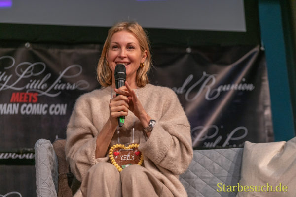 DORTMUND, GERMANY - December 7th 2019: Kelly Rutherford at German Comic Con Dortmund