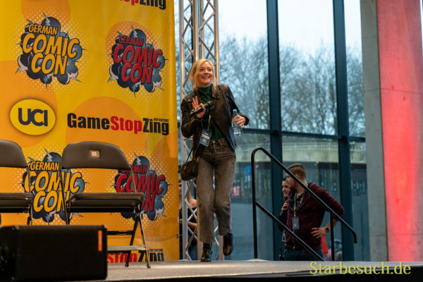 DORTMUND, GERMANY - December 7th 2019: Emily Kinney at German Comic Con Dortmund