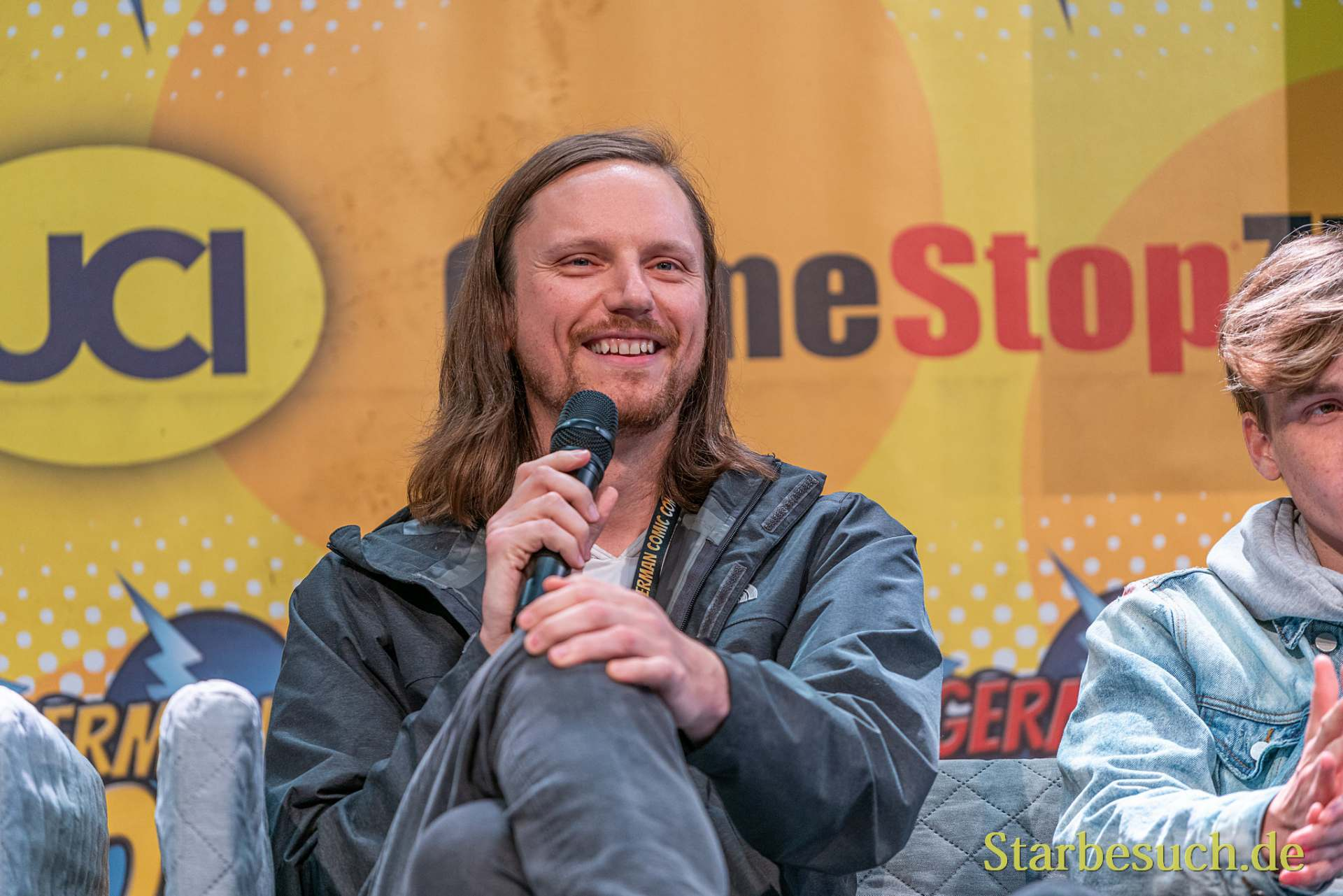 DORTMUND, GERMANY - December 7th 2019: Joshua Mikel at German Comic Con Dortmund