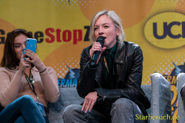 DORTMUND, GERMANY - December 7th 2019: Brighton Sharbino and Emily Kinney at German Comic Con Dortmund