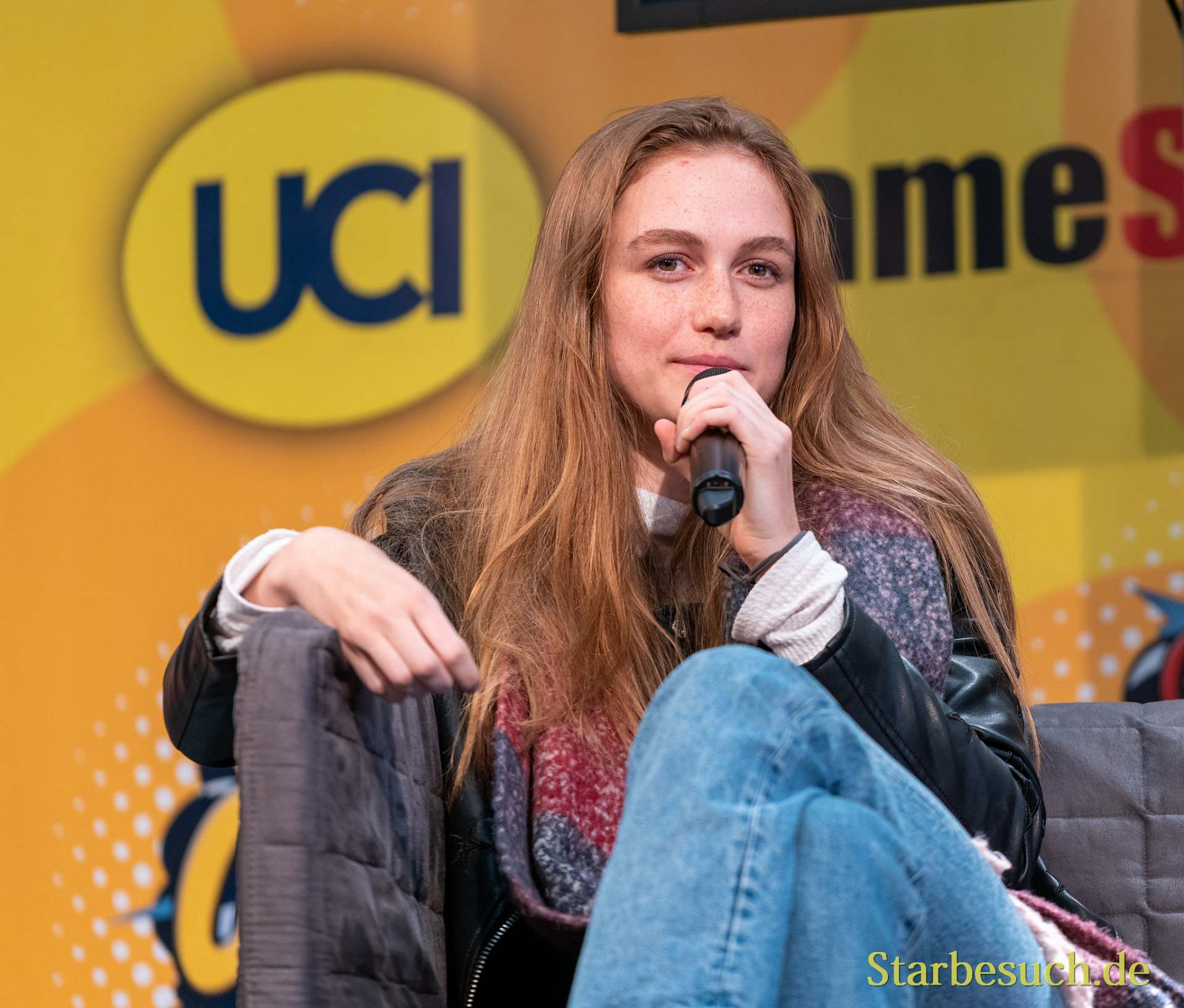 DORTMUND, GERMANY - December 7th 2019: Madison Lintz at German Comic Con Dortmund