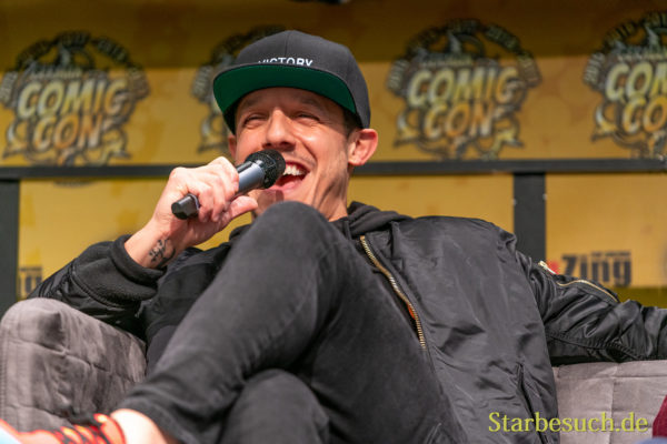 DORTMUND, GERMANY - December 7th 2019: Theo Rossi at German Comic Con Dortmund