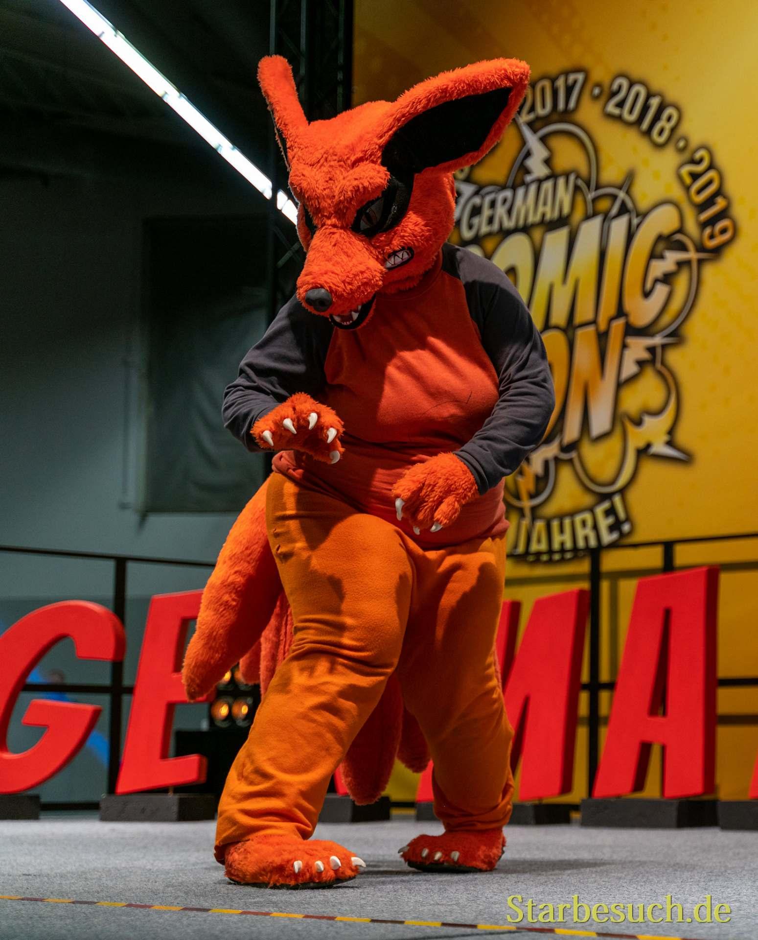 Cosplay - Kurama Kyuubi aus Naruto