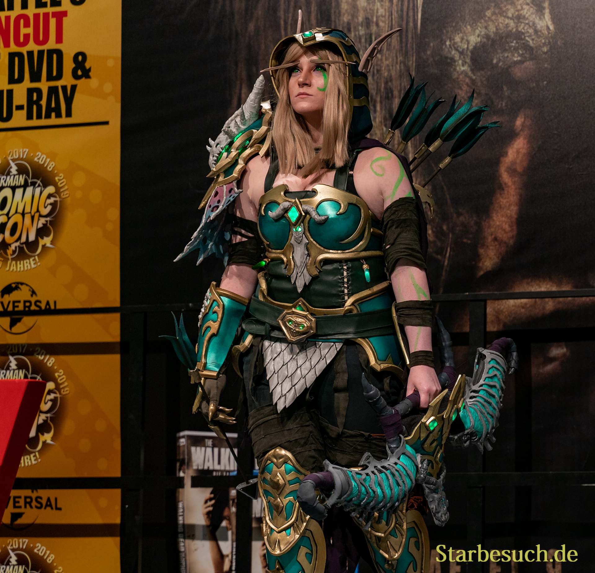 Cosplay - Nicana Cosplay als Alleria Windrunner vom WoW Project Ebonblade Version