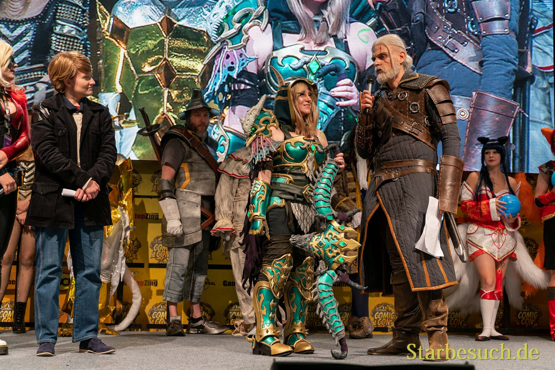 3. Platz: Nicana Cosplay als Alleria Windrunner vom WoW Project Ebonblade Version
