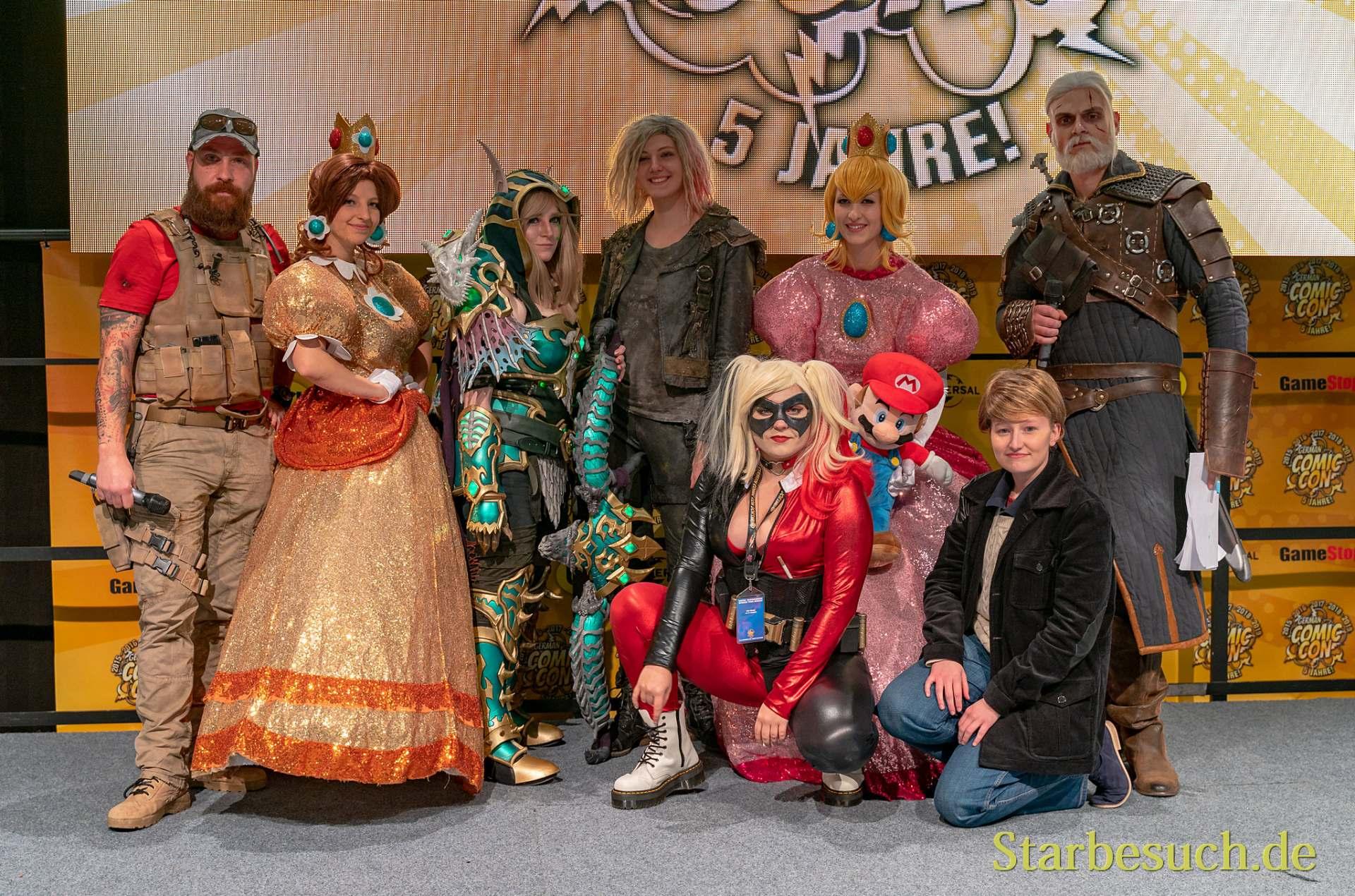 Cosplay Contest - Sieger und Jury