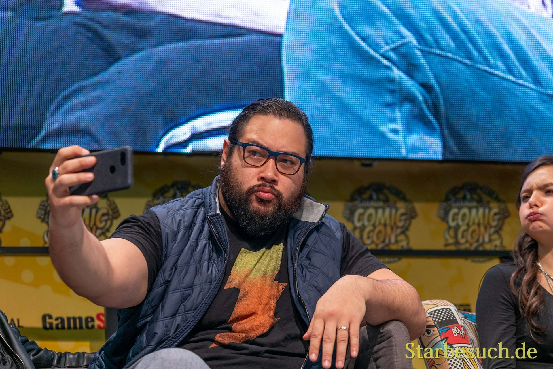 DORTMUND, GERMANY - December 8th 2019: Cooper Andrews at German Comic Con Dortmund