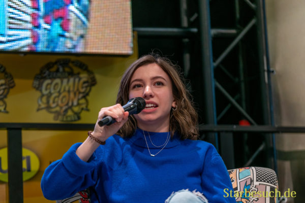 DORTMUND, GERMANY - December 8th 2019: Katelyn Nacon at German Comic Con Dortmund