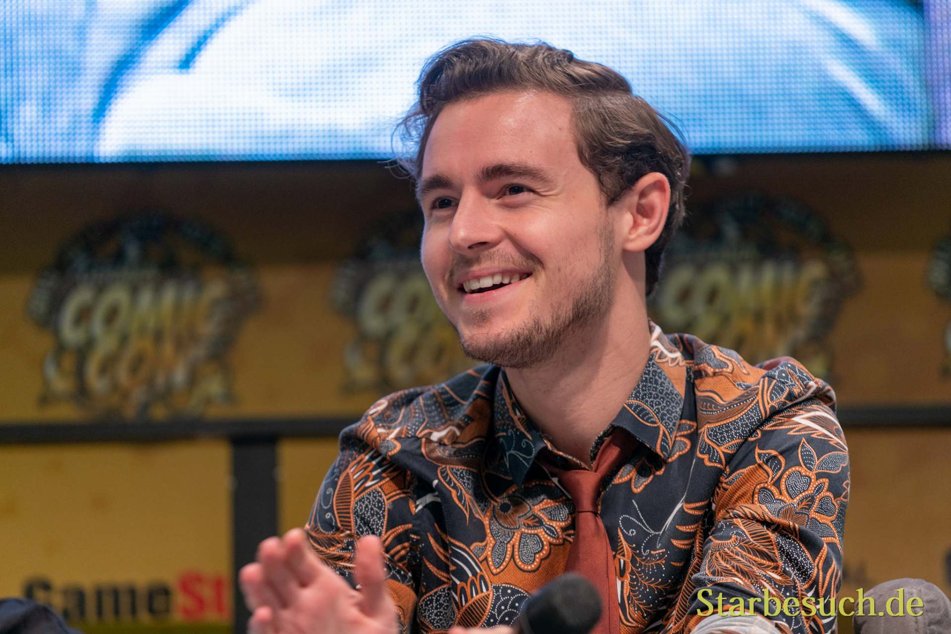 DORTMUND, GERMANY - December 8th 2019: Callan McAuliffe at German Comic Con Dortmund