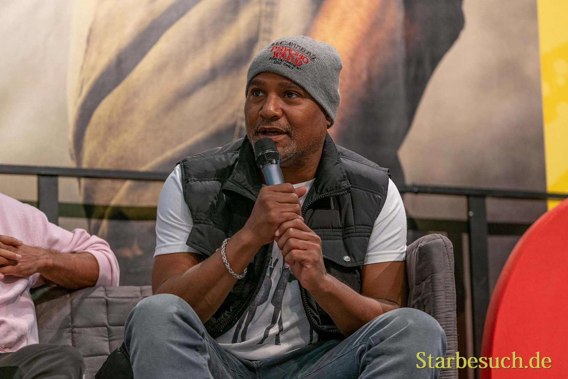 DORTMUND, GERMANY - December 8th 2019: Seth Gilliam at German Comic Con Dortmund