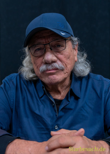 DORTMUND, GERMANY - December 8th 2019: Edward James Olmos at German Comic Con Dortmund