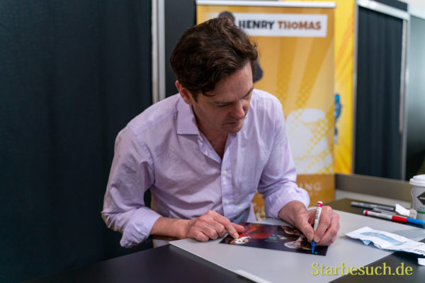 DORTMUND, GERMANY - December 8th 2019: Henry Thomas at German Comic Con Dortmund