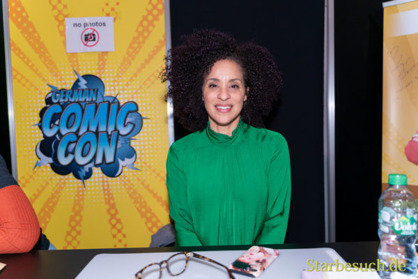 DORTMUND, GERMANY - December 8th 2019: Karyn Parsons at German Comic Con Dortmund