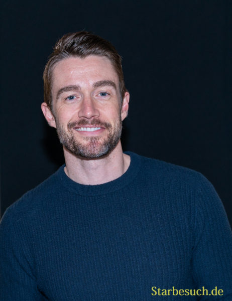 DORTMUND, GERMANY - December 8th 2019: Robert Buckley at German Comic Con Dortmund