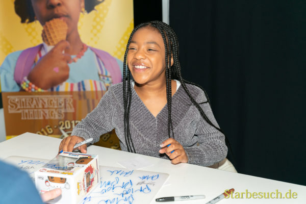 DORTMUND, GERMANY - December 8th 2019: Priah Ferguson at German Comic Con Dortmund