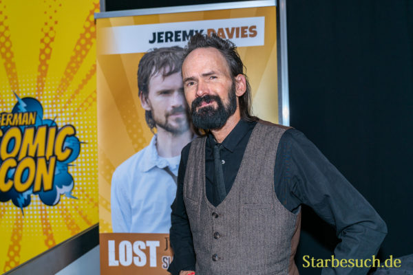 DORTMUND, GERMANY - December 8th 2019: Jeremy Davies at German Comic Con Dortmund