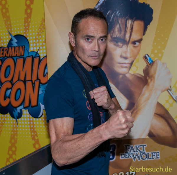 DORTMUND, GERMANY - December 8th 2019: Mark Dacascos at German Comic Con Dortmund