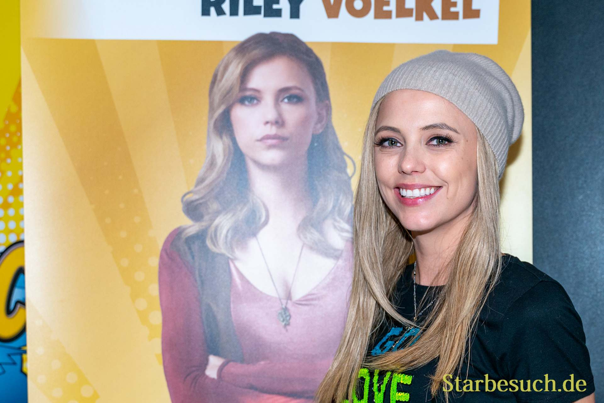 DORTMUND, GERMANY - December 8th 2019: Riley Voelkel at German Comic Con Dortmund