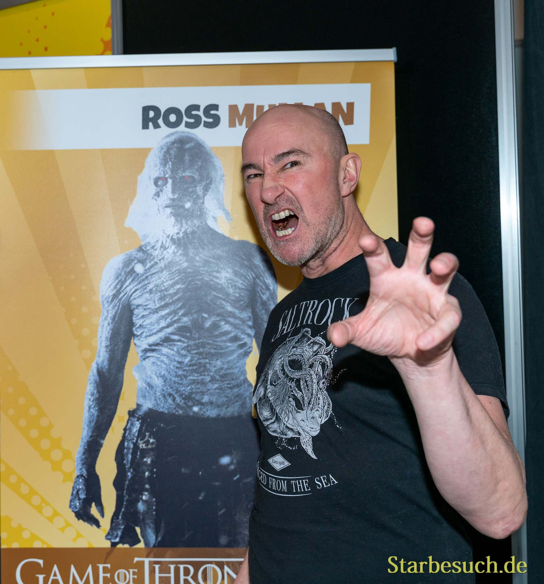 DORTMUND, GERMANY - December 8th 2019: Ross Mulan at German Comic Con Dortmund