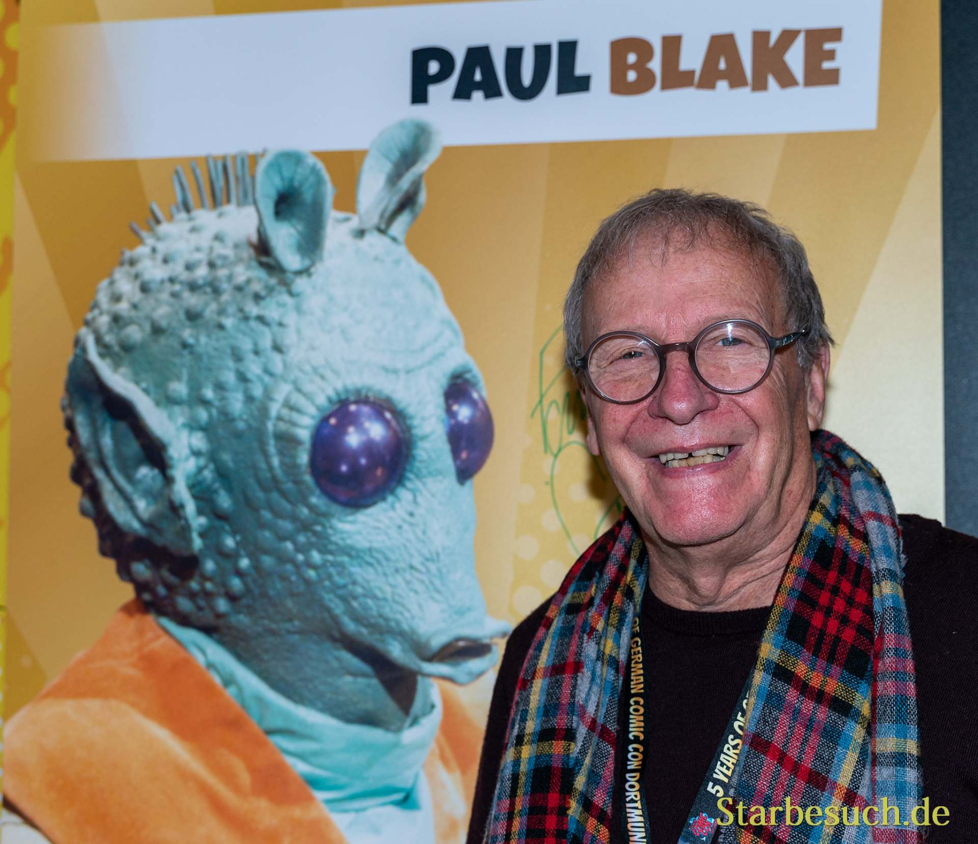 DORTMUND, GERMANY - December 8th 2019: Paul Blake at German Comic Con Dortmund