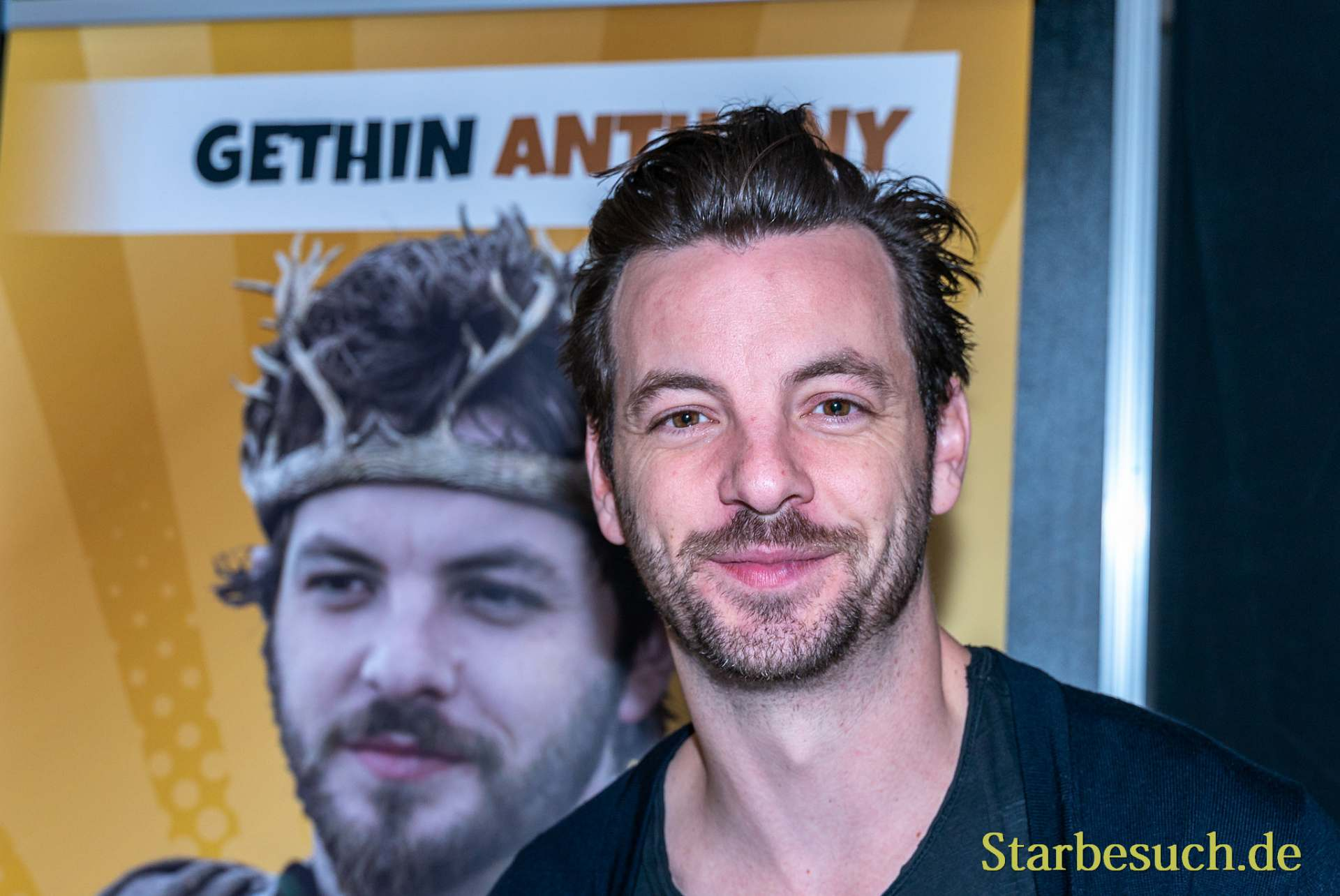 DORTMUND, GERMANY - December 8th 2019: Gethin Anthony at German Comic Con Dortmund
