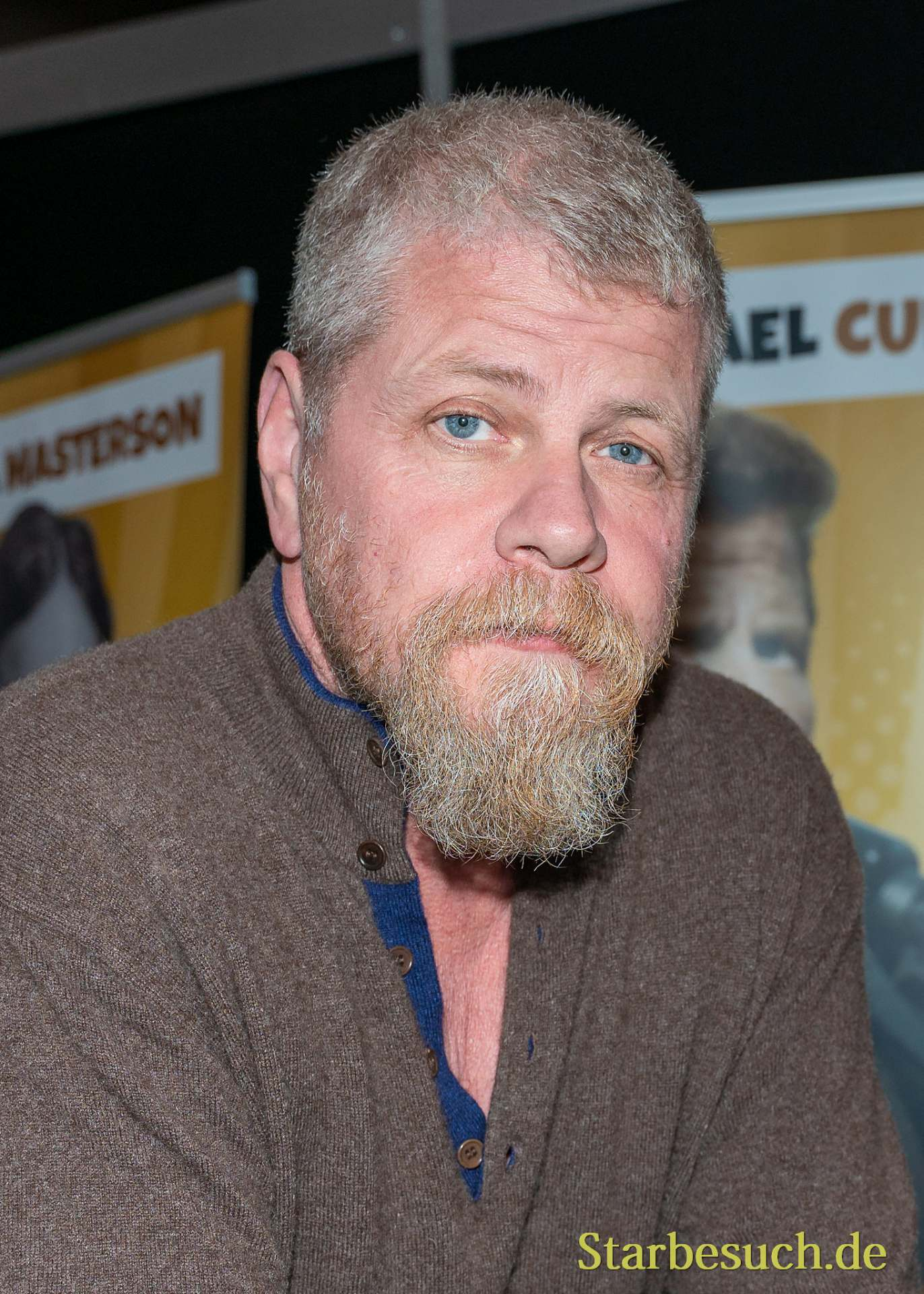 DORTMUND, GERMANY - December 8th 2019: Michael Cudlitz at German Comic Con Dortmund