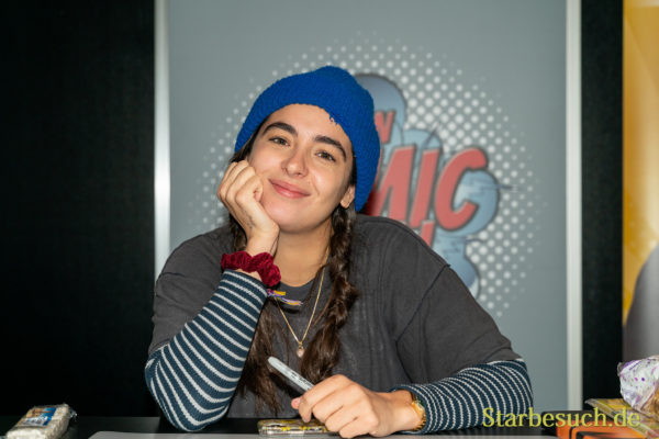 DORTMUND, GERMANY - December 8th 2019: Alanna Masterson at German Comic Con Dortmund