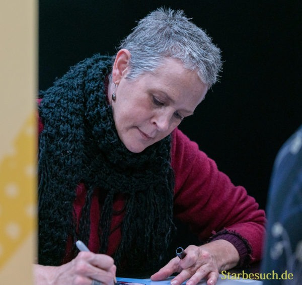 DORTMUND, GERMANY - December 8th 2019: Melissa McBride at German Comic Con Dortmund