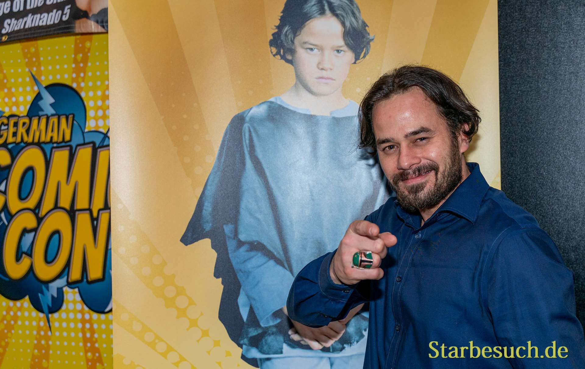 DORTMUND, GERMANY - December 8th 2019: Daniel Logan at German Comic Con Dortmund