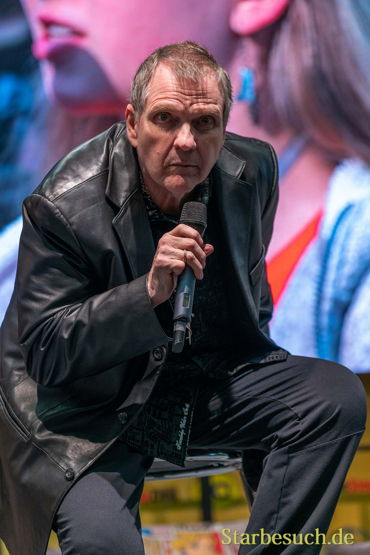 DORTMUND, GERMANY - December 8th 2019: Meat Loaf at German Comic Con Dortmund