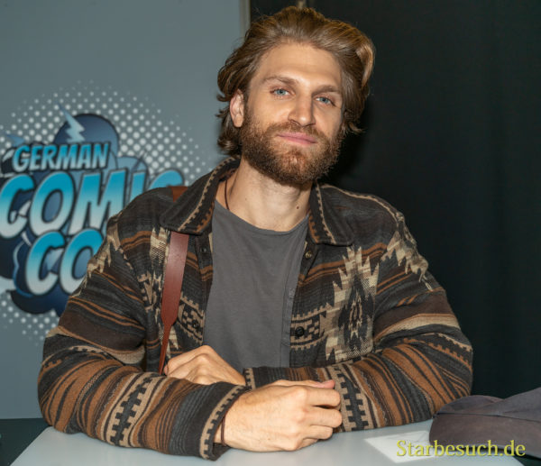 DORTMUND, GERMANY - December 8th 2019: Keegan Allen at German Comic Con Dortmund