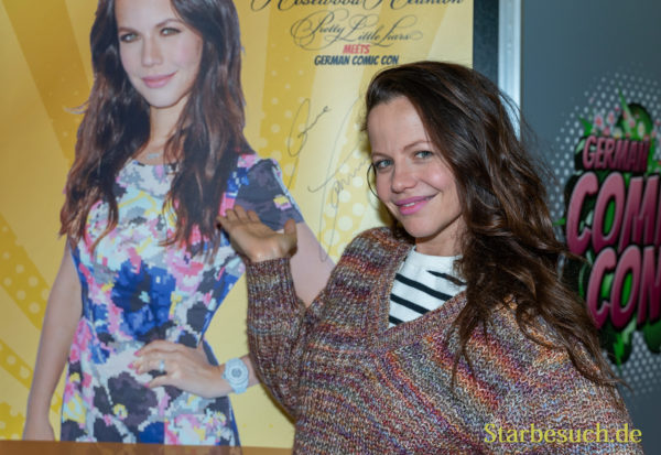 DORTMUND, GERMANY - December 8th 2019: Tammin Sursok at German Comic Con Dortmund
